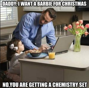 Chemistry set for Christmas