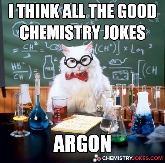 I Think All The Good Chemistry Jokes