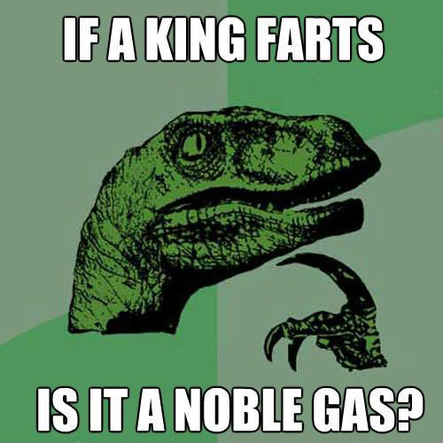 if a king farts