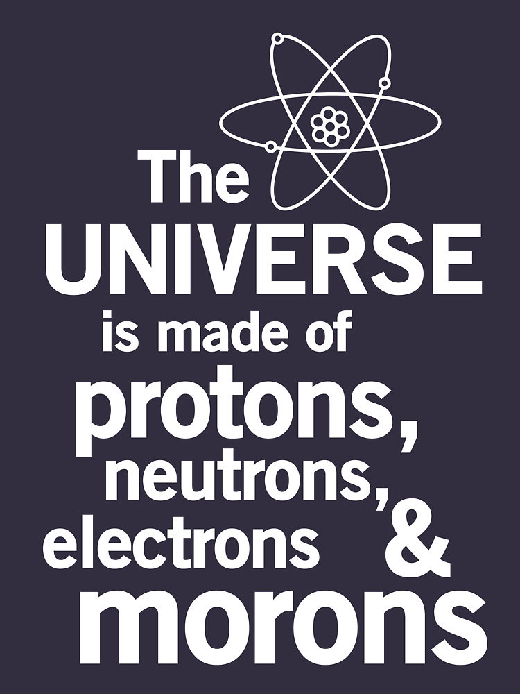 the universe is made up of