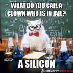 what do you call a clown who is in jail