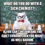 What Do You Do With A Sick Chemist?