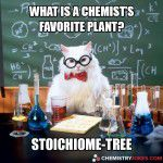 What Is A Chemist's Favorite Plant?