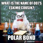 What Is The Name Of 007's Eskimo Cousin?