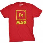 Chemistry puns - Iron Man