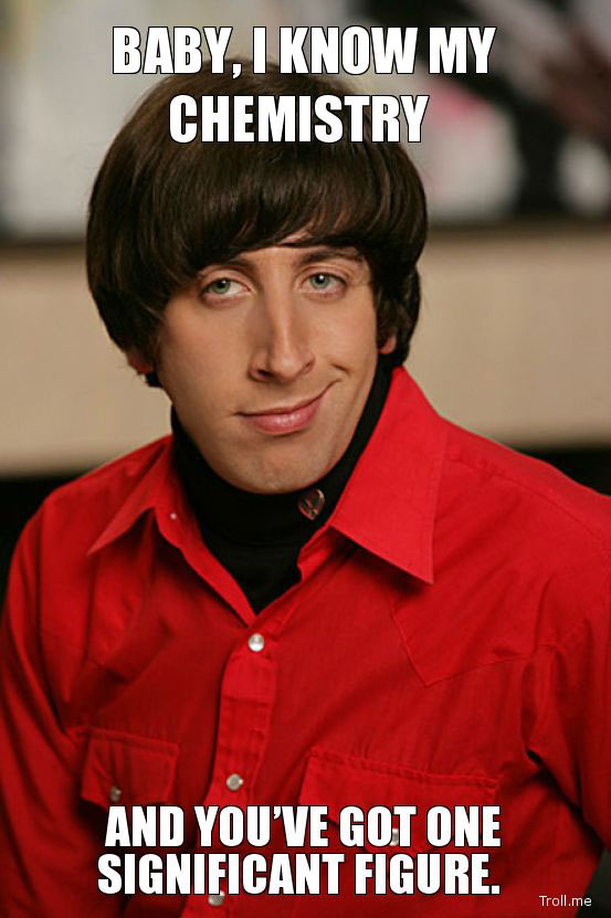Baby, I Know Chemistry