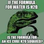 If The Formula For Water Is H2O