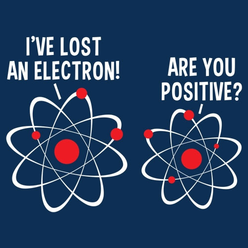 I've Lost An Electron!