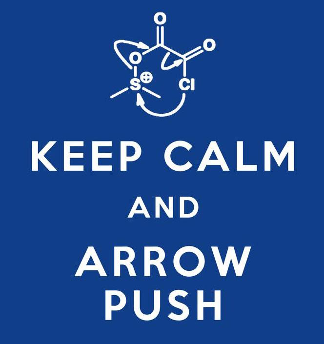Keep Calm And Arrow Push